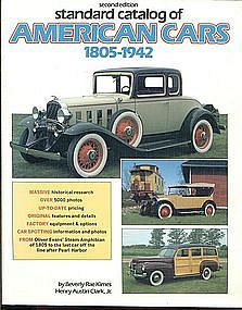 2nd Edition Standard Catalog of American Cars 1805-1942