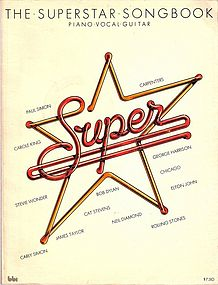 THE SUPERSTAR SONGBOOK. Piano Vocal Guitar