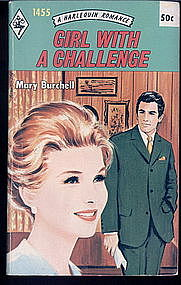 GIRL WITH A CHALLENGE by Mary Burchell #1455