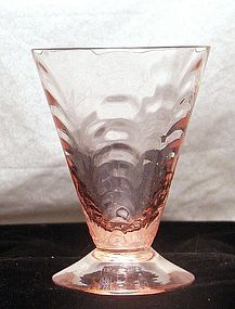 Morgantown Palm Optic Tumbler in Anna Rose ~Elegant