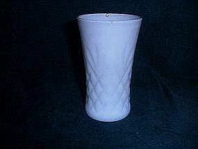 White milkglass vase