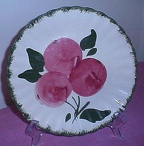 Blue Ridge Pottery Apple Trio Plate