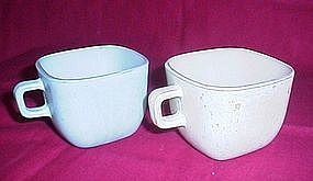 Glasbake Square Coffee Cup