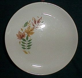 Salem China Autumn Leaves B&B Plate