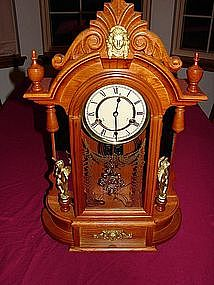 Reproduction Mirror Side Clock