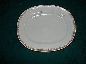 """H & C co. Selb Bavaria serving bowl. 13"""" oval platter"""