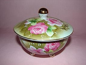 Lefton lidded bowl