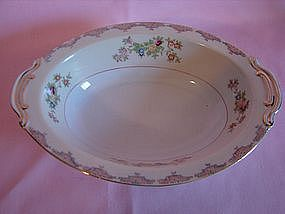 Mayfair china oval serving bowl