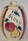 Purinton Pottery Slip Ware FRUIT 8 3/4