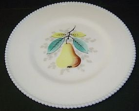 Westmoreland BEADED EDGE 10 1/4 Inch PEAR PLATE
