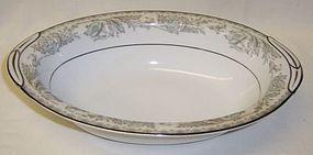 Noritake 5609 BELMONT 10 1/2 Inch OVAL VEGETABLE BOWL