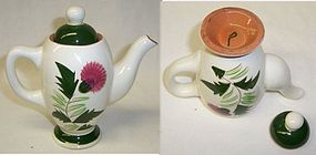 Stangl THISTLE Individual One Cup COFFEE POT with LID