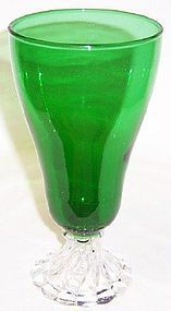 Anchor Hocking Fire King Forest Green BURPLE 6 3/4 In ICE TEA TUMBLER