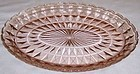 Jeannette Pink WINDSOR DIAMOND 11 1/2 Inch OVAL PLATTER