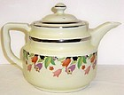 Hall China CROCUS MELTDOWN COFFEE POT with LID