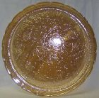 Jeannette FLORAGOLD LOUISA 13 1/2 Inch UNINDENTED ROUND TRAY