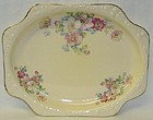Crooksville WILD ROSES 11 1/2 In Number 1135 PLATTER