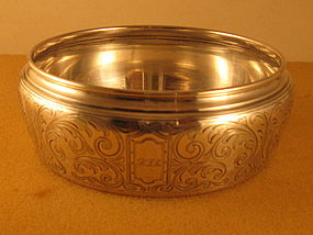 Bowl by Tiffany, first quarter of 20th century