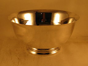 Punch bowl by Gebelein, 1933. Handwrought.