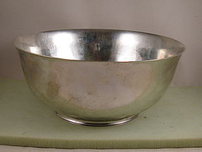 """Bowl by Gebelein 9-3/4"""" punch bowl"""