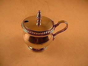 Mustard pot by Watson Co.