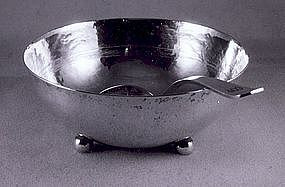 Bowl and ladle by Whiting Mfg.