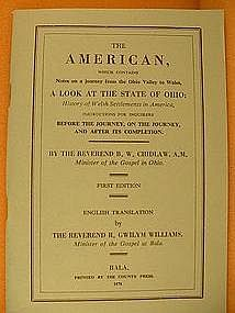The American (Welsh settlements in America), by Chidlaw