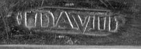 Tablespoon by John David, Philadelphia, circa 1780