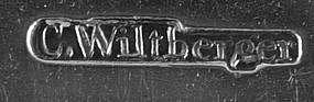 Tablespoon by C.Wiltberger, Philadelphia, circa 1790