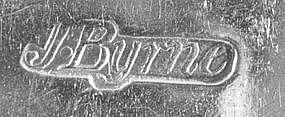 Tablespoon by James Byrne, New York, circa 1790