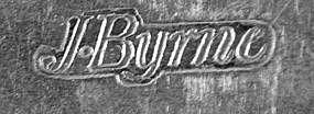 Tablespoon by James Byrne, New York, circa 1800