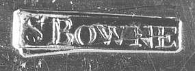 Soup ladle by Samuel Bowne, NY, circa 1800