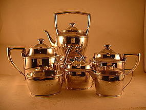 6-piece tea & coffee set by James Woolley,Boston,c.1920