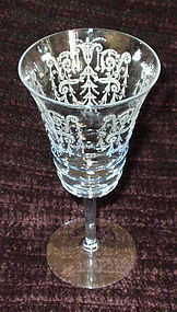 """Cambridge CLEO 7.1"""" 9 oz #3077 Water Goblet Willow Blue"""