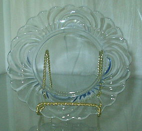 "Cambridge CAPRICE 6.5"" Bread Plate Moonlight Blue Set of 6"