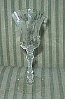 Cambridge ROSE POINT #3500 2.5 oz Wine Goblet, Crystal
