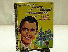 Little Golden Book Mister Rogers Neighborhood No. 133