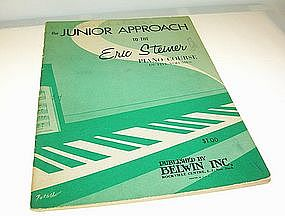 Junior Approach to the Eric Steiner Piano Course