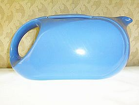 Westinghouse Premium Water pitcher blue by Hall China