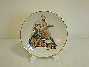 Norman Rockwell 1975 Gorham Good Deeds Plate