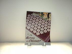 Lily Motifs in Crochet Design Book No. 68  lst  Ed 1953