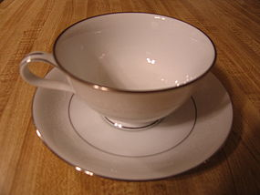 Noritake Whitehall Cup and Saucer