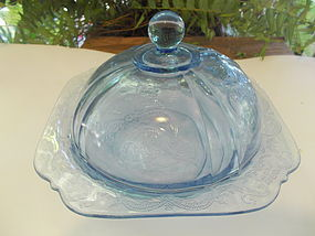 Indiana Recollection Butter Dish