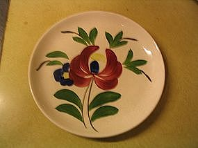 Stetson Floral Plate