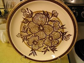 Jamestown China Brown Flowers