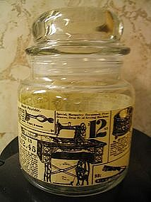 Sears Catalog Canister