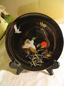 Japan Fine China Duck Plate