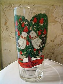 12 Days of Christmas Glass 2nd Day