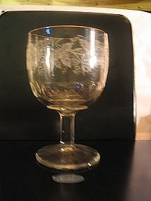 Bartlett Collins Grape Goblet