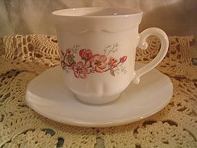 Arcopal Florentine Cup and Saucer